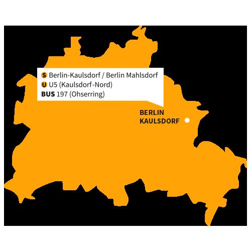Karte Grundschule Kaulsdorf