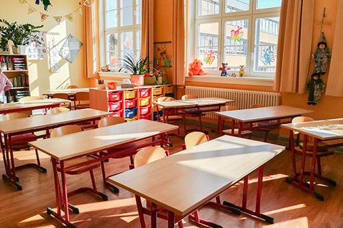 Klassenraum Grundschule Kaulsdorf