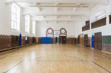 Gymnasium Turnhalle