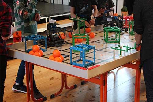 Vex Robotics Wettbewerb 2020