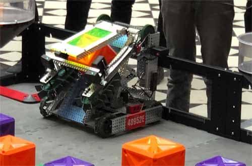 Robotik Wettbewerb gewonnen