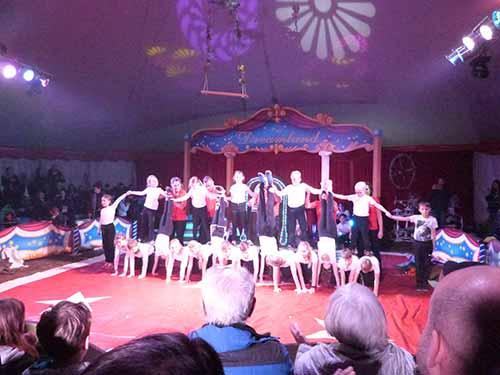 Zirkusprojekt Grundschule Kaulsdorf